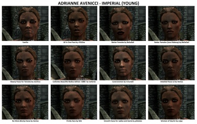Face Mods - Female 4