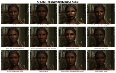 Face Mods - Female 5