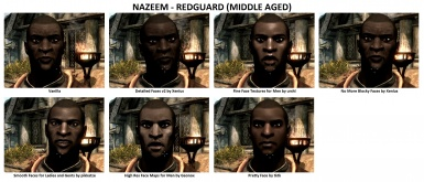 Face Mods - Male 4