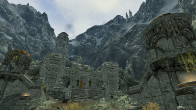 Markarth in the Arms of the Mountain Range