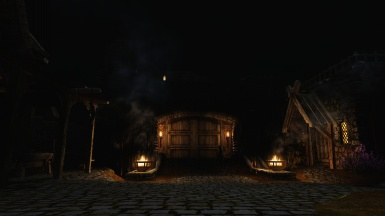 Skyrim Whiterun Gate 4k resolution