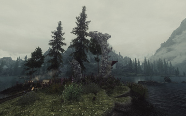 unreal with Realistic Water Two and Oblivion gates