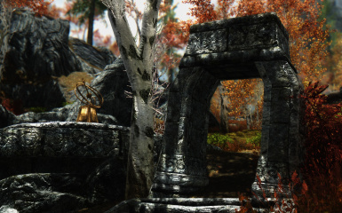 Fall Forest Ruins