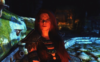 Aela's face when she heared ''Marry me'' right inside Ysgramor's Tomb