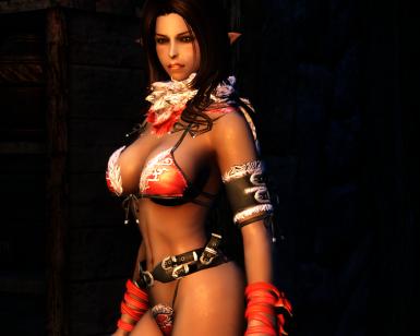 Ria In Onechanbara Outfit