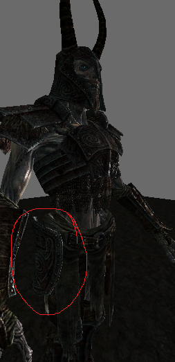 ancient nord legplate
