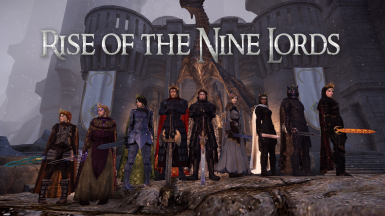 Rise of the Nine Lords Saga-  Chapter Index- In Progress - Updated Weekly