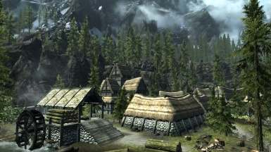 Skyrim Falkreath background