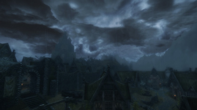 Another Stormy Day in Whiterun