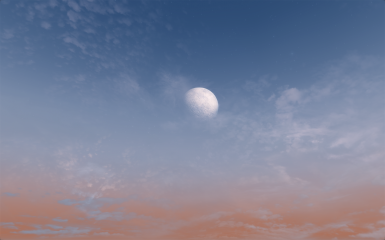 Just a peaceful moon