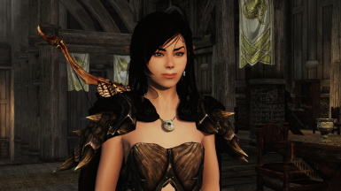 Ceire thawing at Dragonsreach