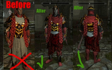 Finalized Sixth House Armors