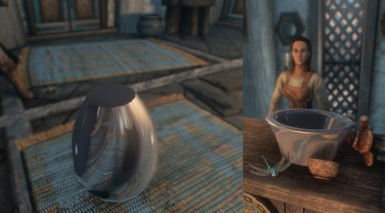Truly Reflective Pottery for ENB