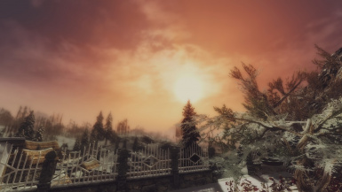 Sunset from Dawnstar