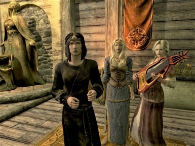 The Vilja Twins and Serana  Have a Great Idea
