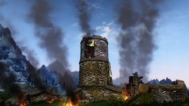Guard Tower under attack