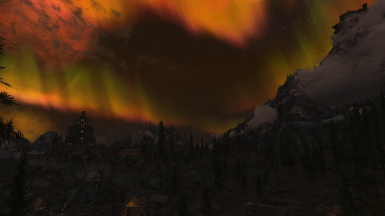 Fantasy Night Whiterun