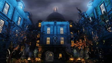 Blue Palace Night