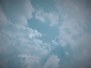 Realistic Clouds WIP 2