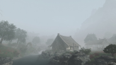 foggy morning in Riverville