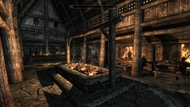 Riverwood inn with Hd 2k textures elfx and cot