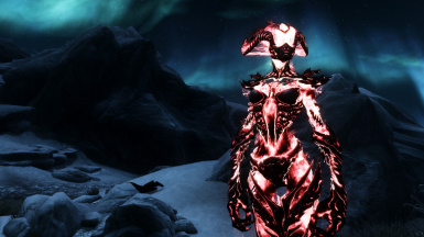 Red flame atronach