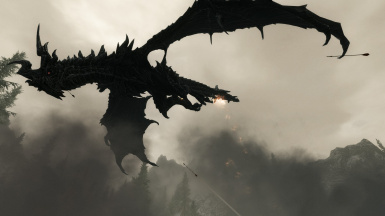 Alduin - and stay out