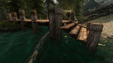 Old wooden bridge 2
