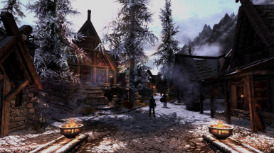 Winter whiterun