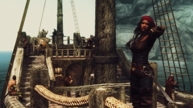 Yisra the pirate