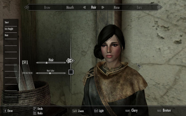 My new skyrim character face