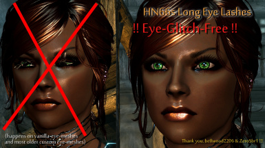 HN66s Long Eye Lashes UPDATED