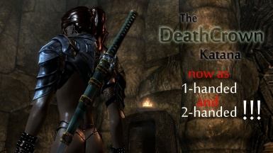 DeathCrown Katana also 2-handed now