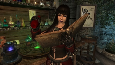Zelina learning how to make potions