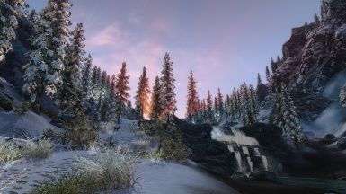 The Dusk near Windhelm