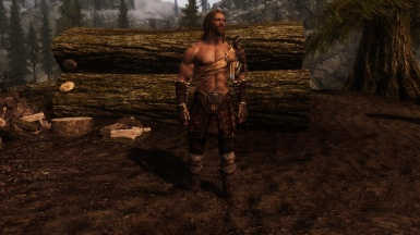 Viking-esque Outfit In-Game