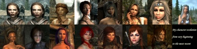 my character evolution