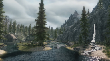 A Peaceful Morning in Riverwood