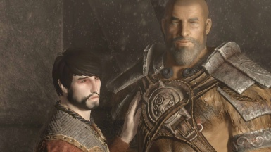 Julien and Stenvar at the Meeting in High Hrothgar