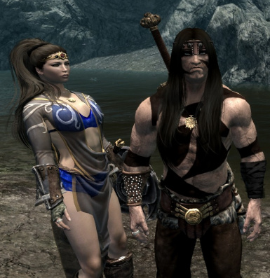 Conan and his Lady