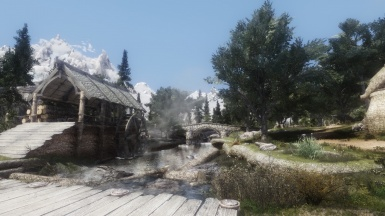 Half Moon Mill with Tamriel Reloaded Trees