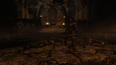 the draugr are not a problem for dovahkiin