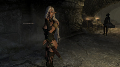 Sexy Wednesday Leven and Elisha in Shroud Hearth