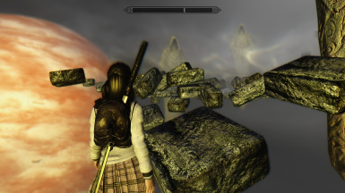 Yuki entering Skyrim