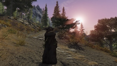 Just another sunset in skyrim