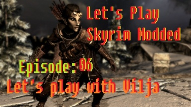 Syndeah Lets play skyrim modded 06 playing with Vilja