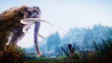 Face Off - Wooly Mammoth versus Skeletal Mage