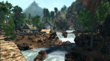 Ultra Graphics Version Of Tropical Skyrim