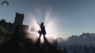 The sun rises over Solitude