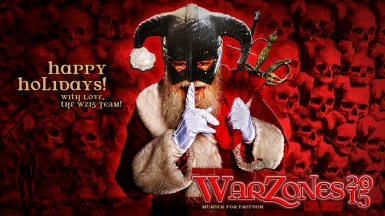 Happy Holidays from the WARZONES 2015 Team